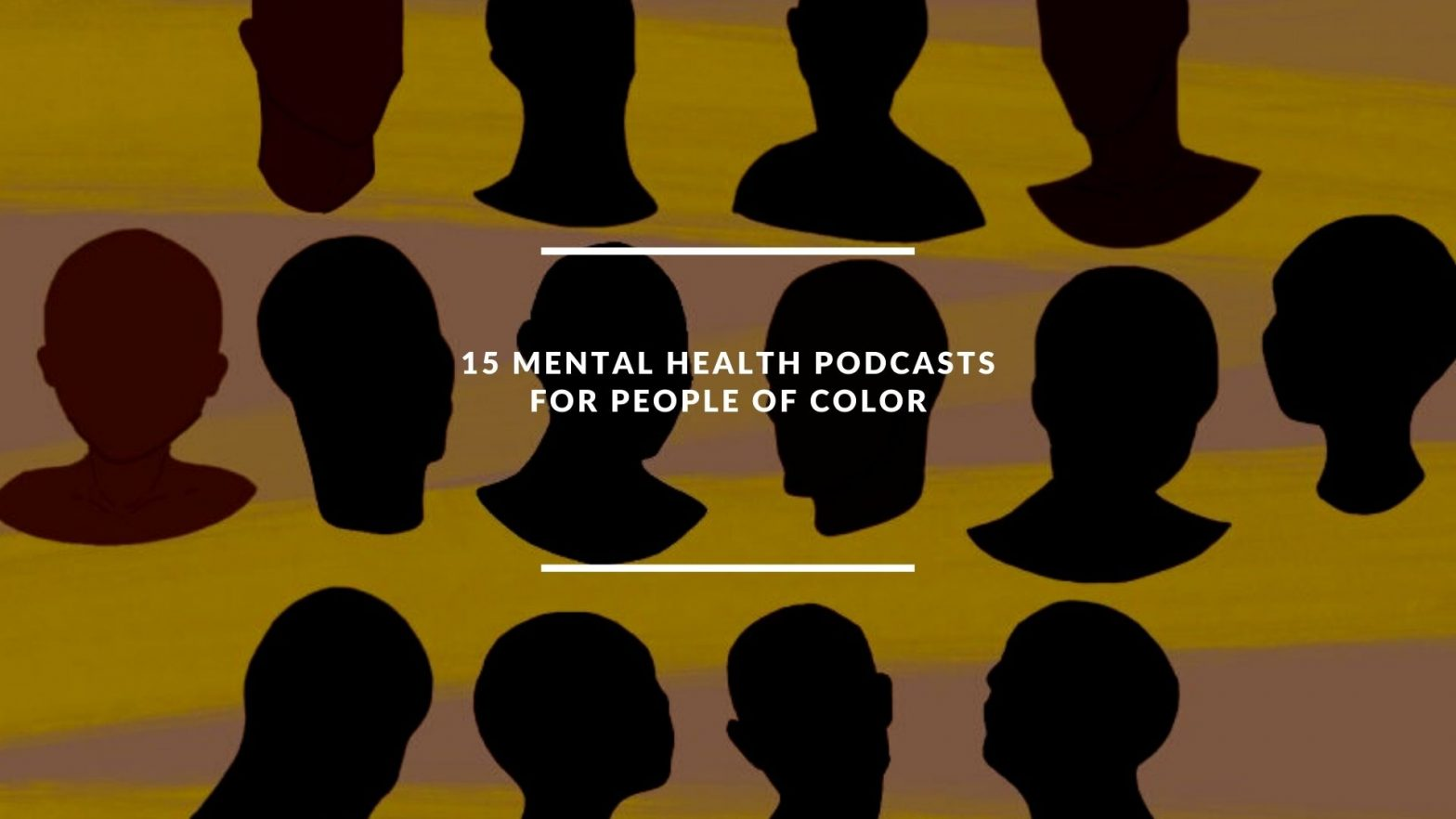 15 mental health podcasts for people of color